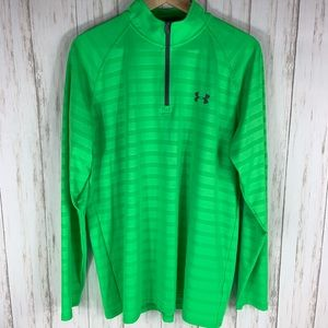 UNDER ARMOUR Neon Green Top Size M